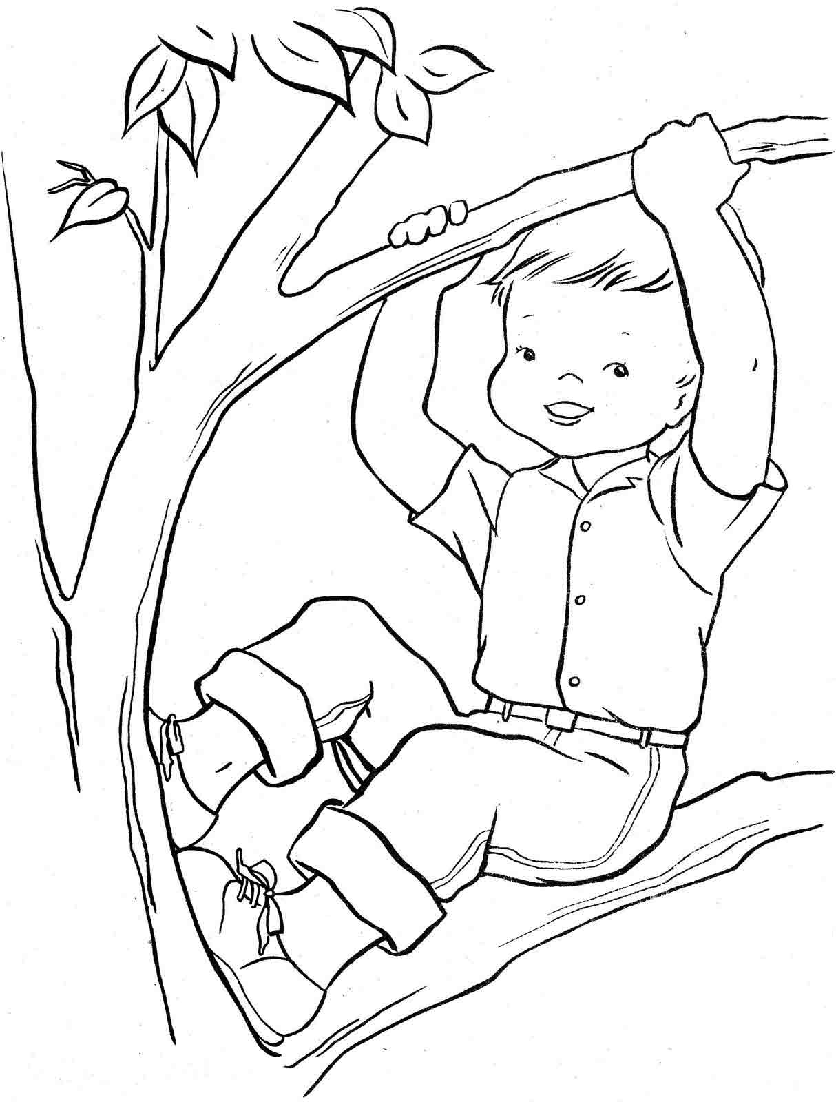Раскраски плохие поступки детей 45